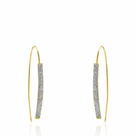 Boucles d'oreilles femme or Zoéla