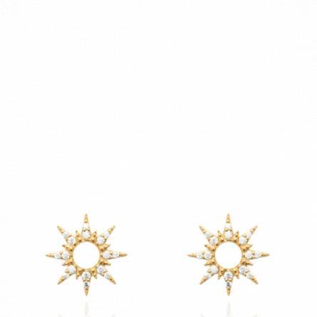 Boucles d'oreilles femme pierre Amelori