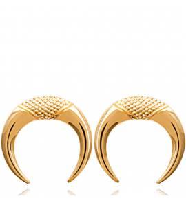 Boucles d'oreilles femme plaqué or Vendralia