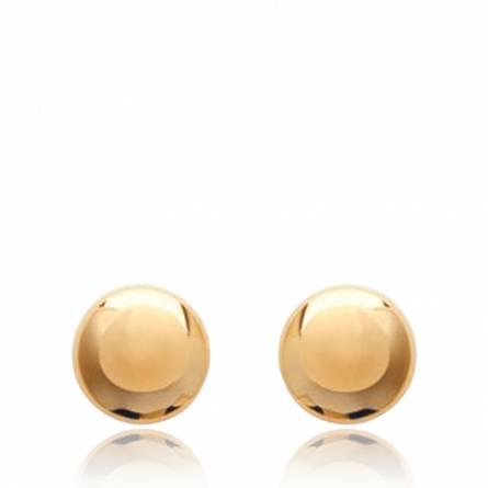 Boucles d'oreilles femme plaqué or Zaoua