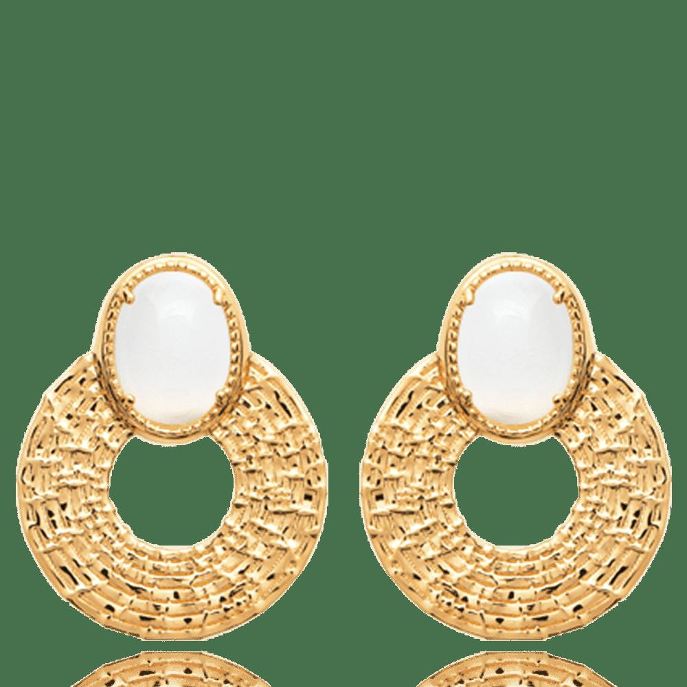 boucle d'oreille femme pierre