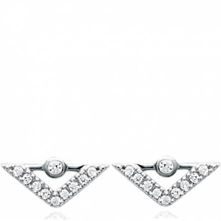Boucles d'oreilles femme Utria triangle