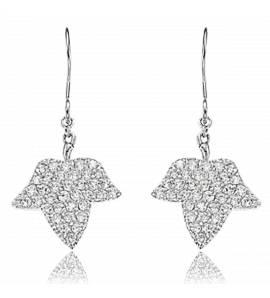 Boucles d'oreilles feuillage luxuriant Lolita Lempicka