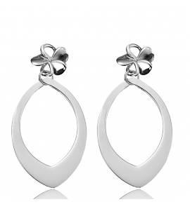 Boucles d'oreilles fleur Clyda Najah