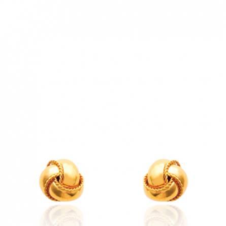 Boucles d'oreilles Nid pelote
