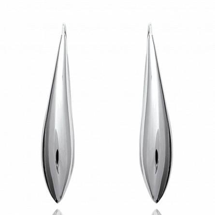 Boucles d'oreilles Oblongues