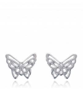 Boucles d'oreilles Papillon Ajouré