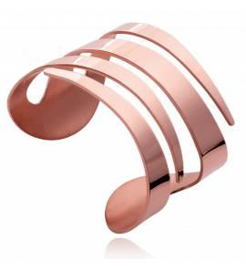 Braccialetto donna acciaio Sosthène rosa
