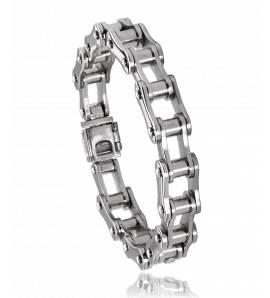 Bracelet acier chaine vélo Varty
