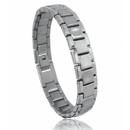 Bracelet acier Laurentin