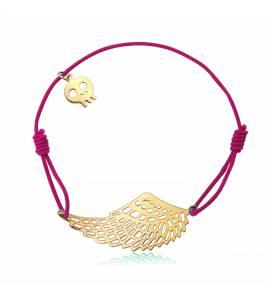 Bracelet élastique Rose aile Mota