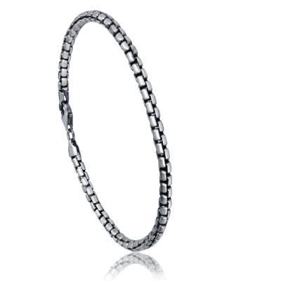 Bracelet argent maille vénitienne Leon