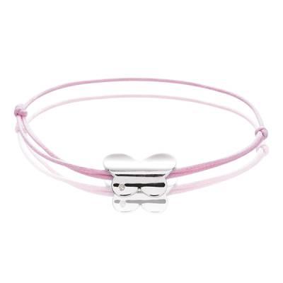 Bracelet Argent rhodie diamant Déméter