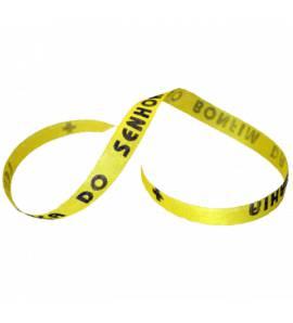Bracelet brésilien du Senhor do Bomfim jaune