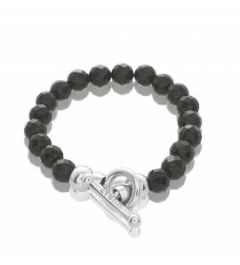 bracelet-charm-s femei argint Extase negru