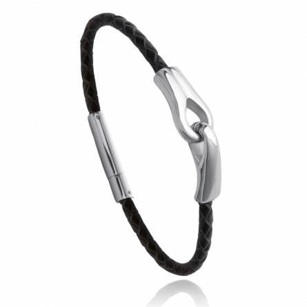 Bracelet Cuir Floréal