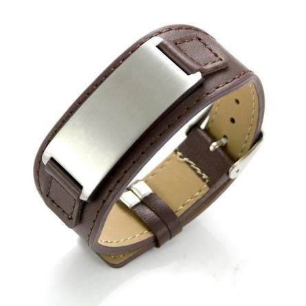 Bracelet de force marron Thémis
