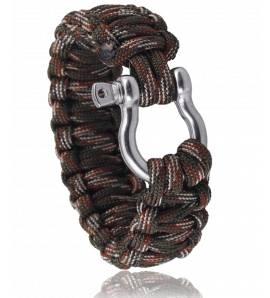 Bracelet de survie vert militaire Chakir