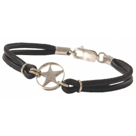 Bracelet Etoiles pleine ronde