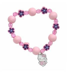 Bracelet Fantasy Hello Kitty rose Namadie