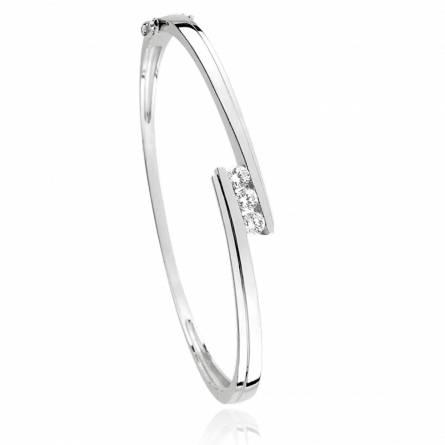 Bracelet femme argent Jol