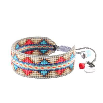 Bracelet femme perle Lana bleu