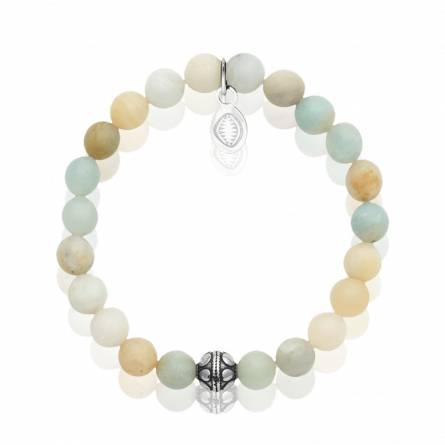 Bracelet femme pierre Amazonite 2