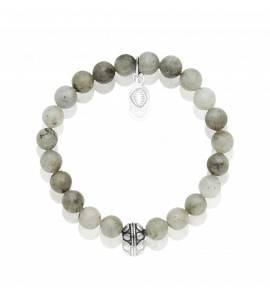Bracelet femme pierre Labradorite 3 vert