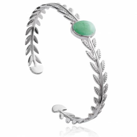 Bracelet femme pierre Pasimia vert