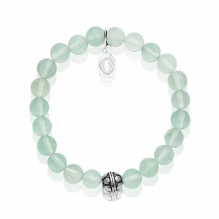 Bracelet femme pierre Pierre de Jade vert