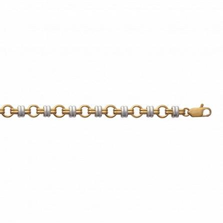 Bracelet femme plaqué or Delma