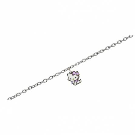 Bracelet Hello Kitty Charmmy violet