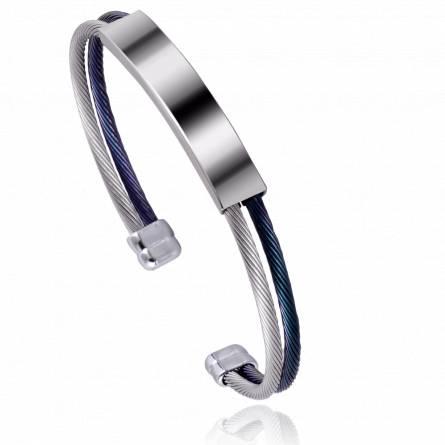 Bracelet homme acier Tanon