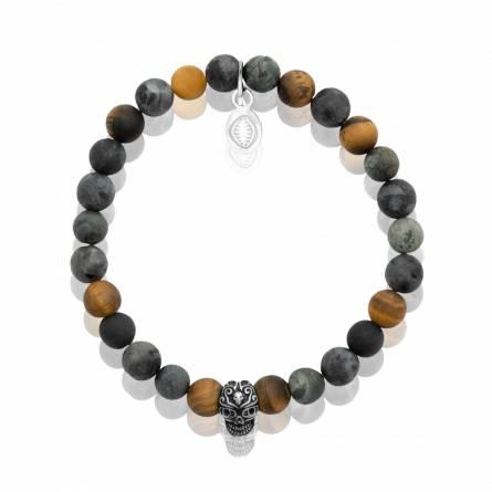 Bracelet homme pierre Et pierre