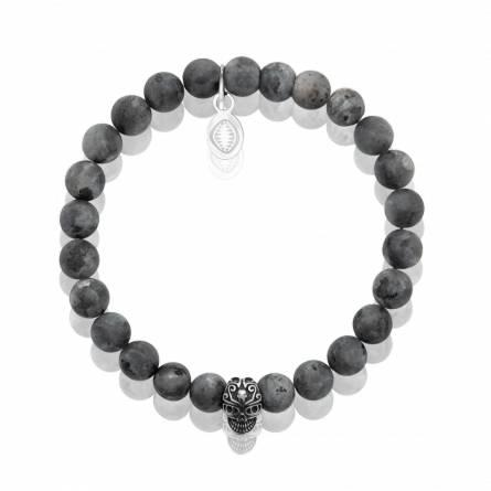 Bracelet homme pierre Labradorite 2
