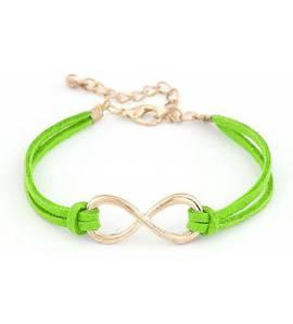 Bracelet Infinity Vert Valdenar