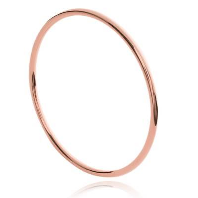 Bracelet jonc en plaqué or rosé Laud