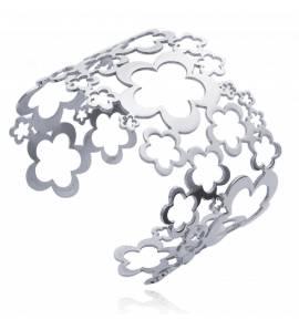 Bracelet Jonc Multitude Fleurs