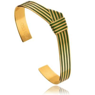 Bracelet Kenzo ligne KNOT Plaque or