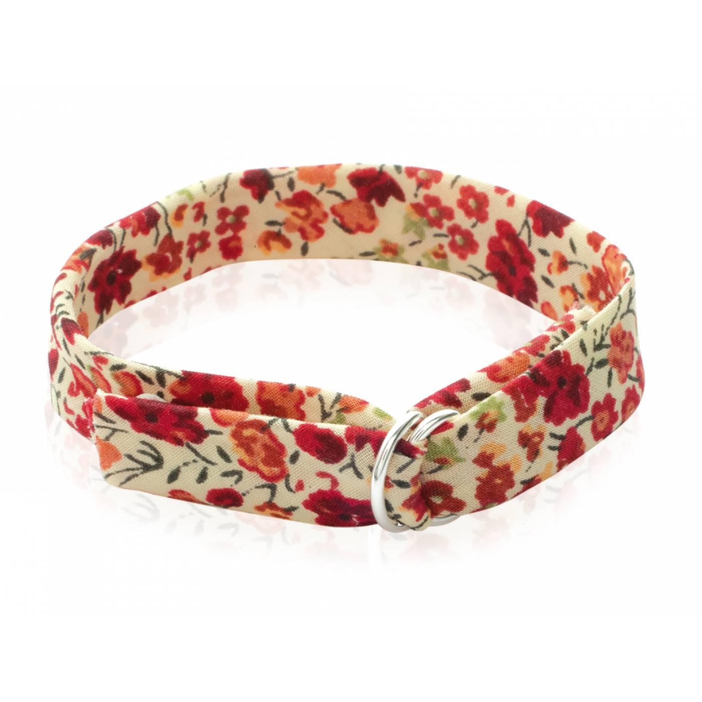 Bracelet femme brode tendance tissu rouge - Tissu pour bracelet liberty ...