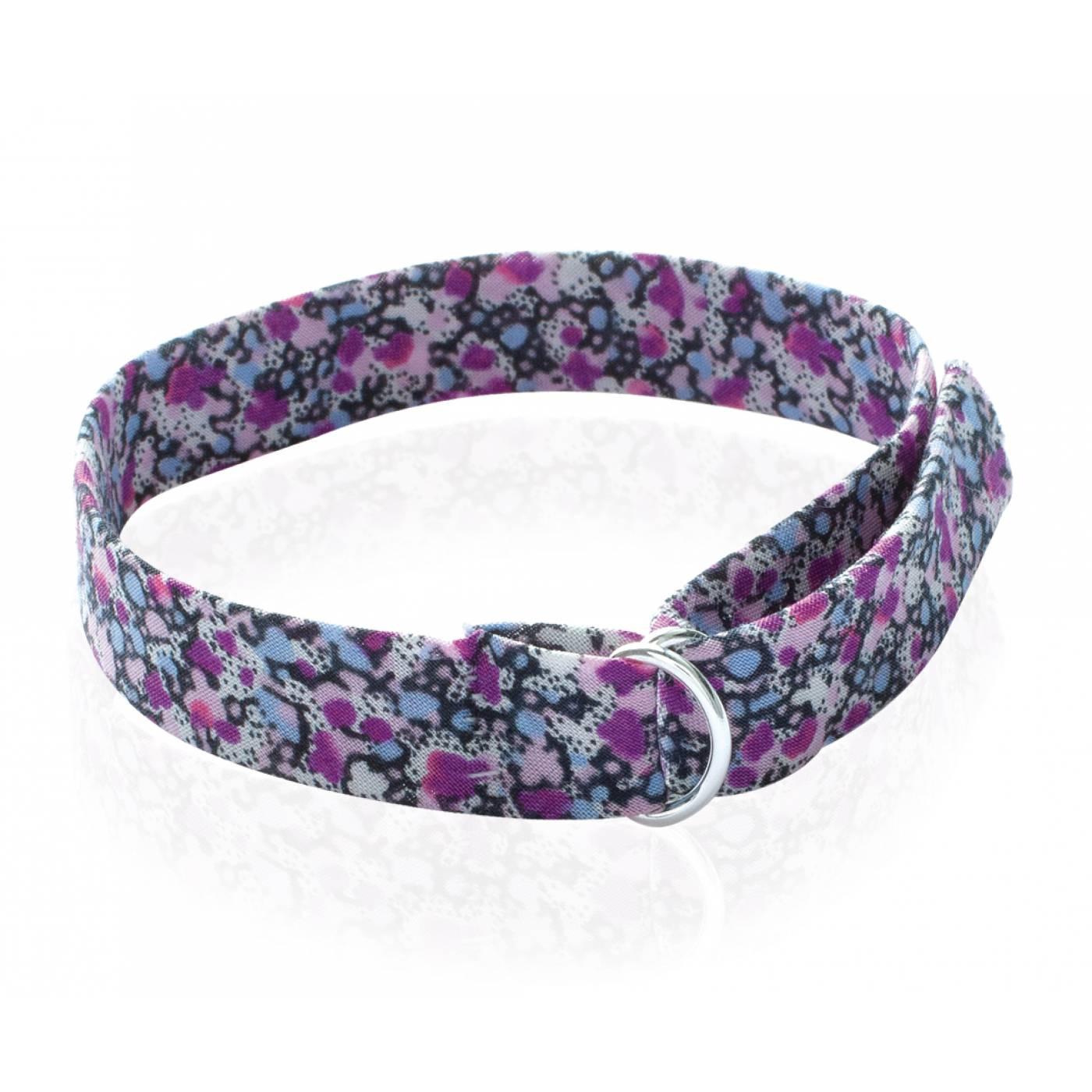 Bracelet femme violine tissu violet - Tissu pour bracelet liberty ...