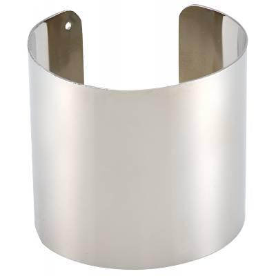 Bracelet manchette bronze blanc Franchini Évasion