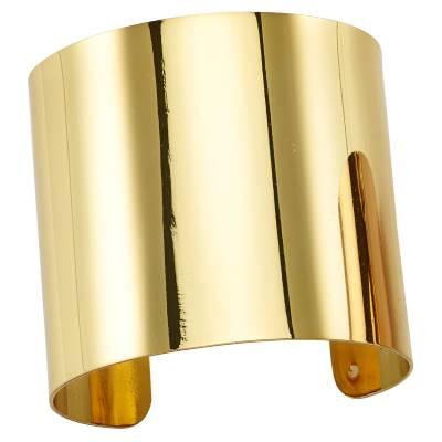 Bracelet manchette bronze jaune Franchini Évasion