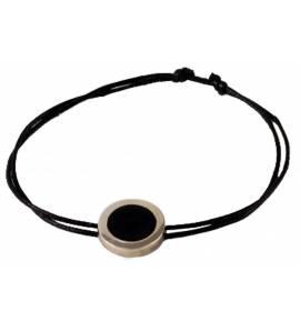 Bracelet Minimaliste Coton résine Paco
