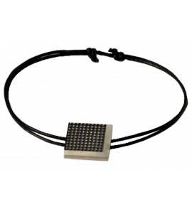 Bracelet Minimaliste Pixelisé carré