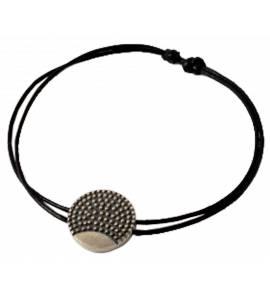 Bracelet Minimaliste pixellisé rond Palamon
