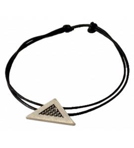 Bracelet Minimaliste triangle coton Palémon