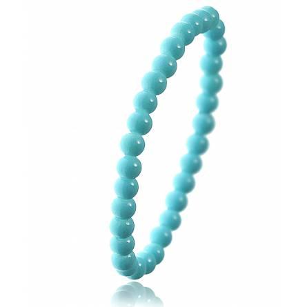 Bracelet perle cyan Zazie