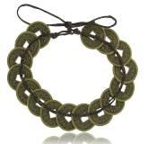 Bracelet pieces marron Argi