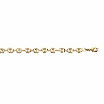 Bracelet plaqué or Juliann grain de café